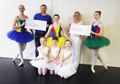 "Presentation of money raised from the recent production of ""DANCING IMAGES"""